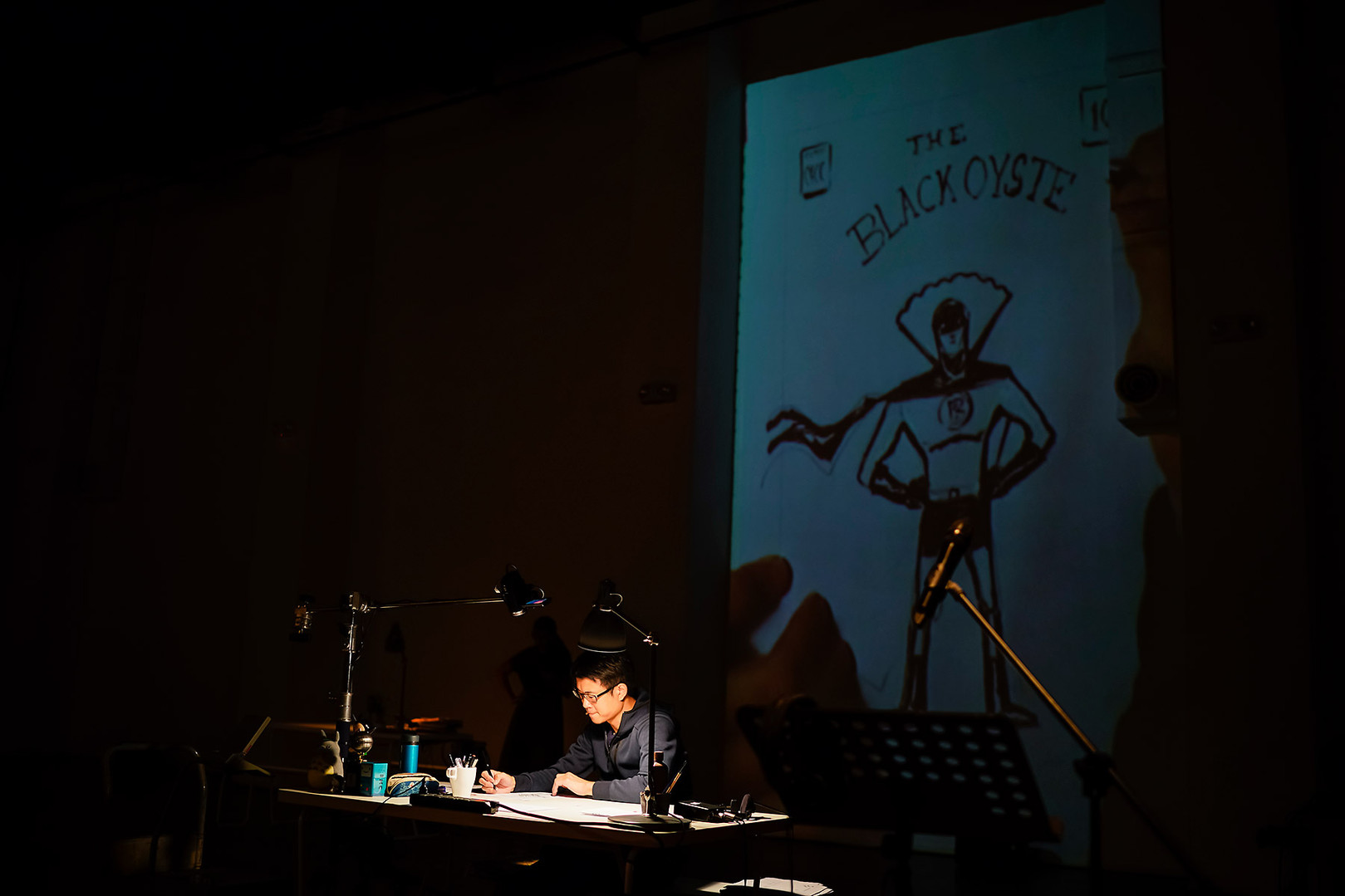 Sonny Liew and Edit Podesta - Becoming Graphic - SIFA
