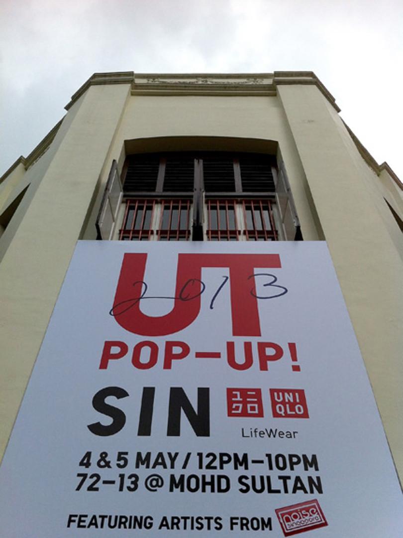 Uniqlo UT Pop-Up Store