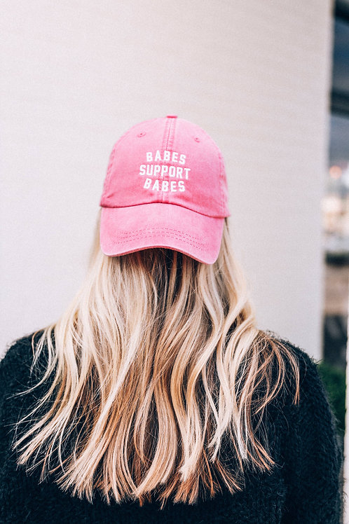 Babes Support Babes Pink Hat