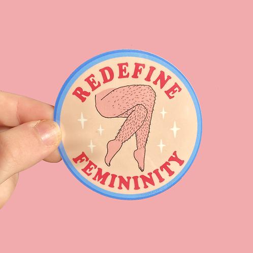 Redefine Femininity Sticker