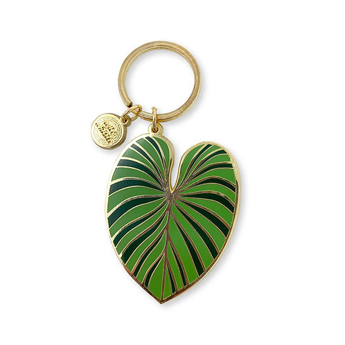 Philodendron Gloriosum Keychain
