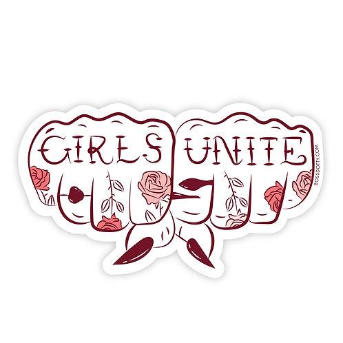 Girls Unite Sticker