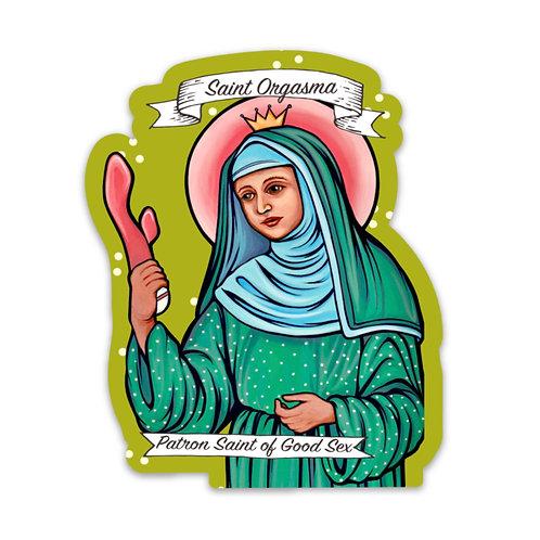 Saint Orgasma Sticker