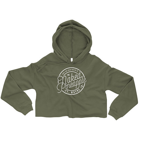 Love the Skin You're In TNP Cropped Hoodie