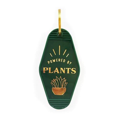 Powered By Plants Key Tag