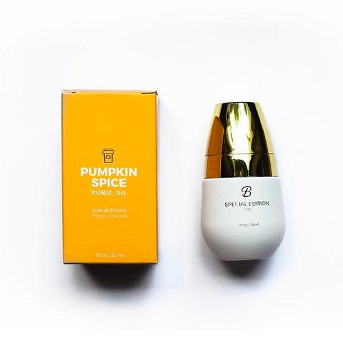 Pumpkin Spice Pubic Oil