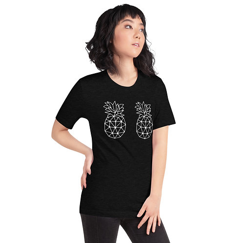 Geometric Pineapple B00Bs Short-Sleeve Unisex T-Shirt