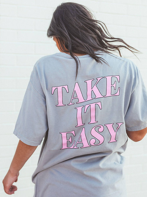 Take It Easy Pocket Tee