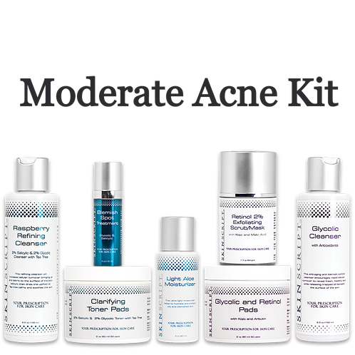 Moderate Acne Kit