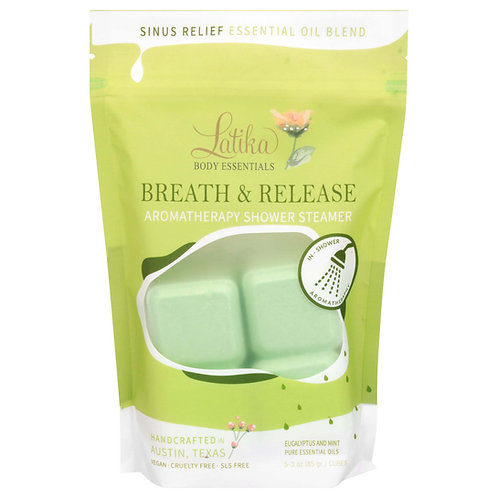 Breathe & Release Shower Steamers