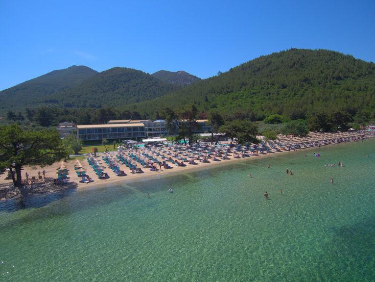 Pachis Beach aerial view
