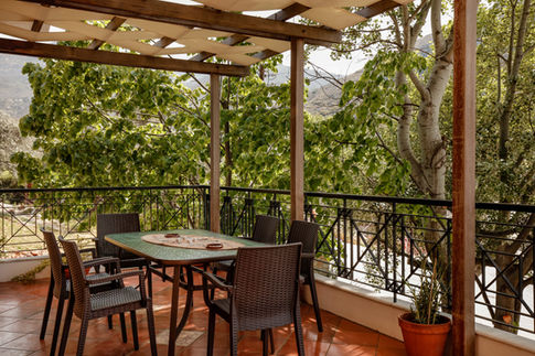 Villa Loridis terrace