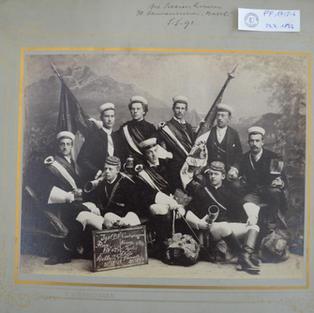 Die Luzerner Aktivitas 1893.
