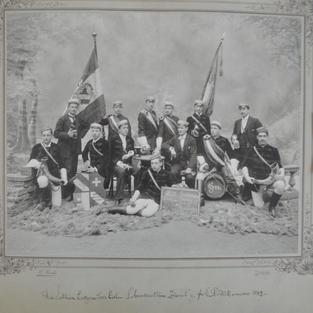 Die Luzerner Aktivitas 1899.