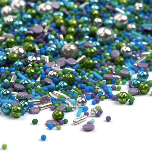 Sprinkle Mix - grün, blau