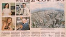 """""""Eles são as Vozes da Cidade"""" - Jornal Estadão em 2001"""
