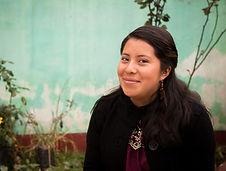 Claudia Nicté Vásquez López, volunteer coordinator Chico Mendes