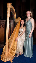 Dahlia Duo featuring Fontane Liang on harp and Sarah Dacey soprano