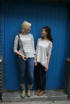 Folie a deux femmes, clarinet Charlotte Webber & harp Fontane Liang