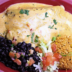 Espinaca Grilled Chicken Enchilada