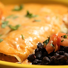 Friday- Shrimp and Crab Enchiladas