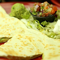 Shrimp Avocado Quesadilla