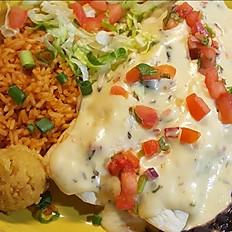 Fajita Con Queso Enchiladas