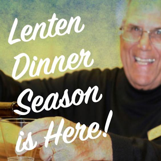 Lenten Dinner #1 - February 28, 2020