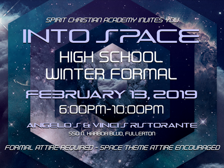 Winter Formal is Almost Here!