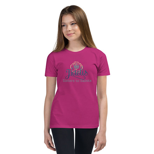 YOUTH SIZED- Sisters to Saints Short Sleeve T-Shirt
