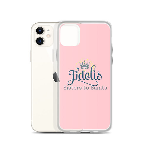 Sisters to Saints iPhone Case