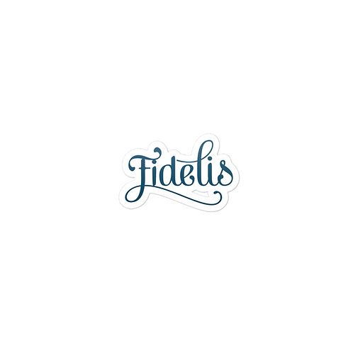 Fidelis Bubble-free stickers