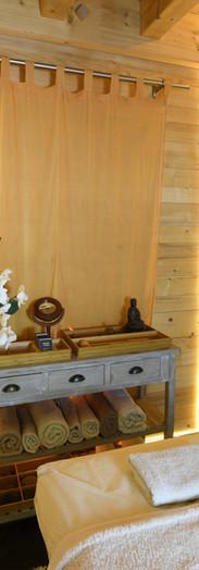 L'arbre de Vie - Espace massage sur table chauffée