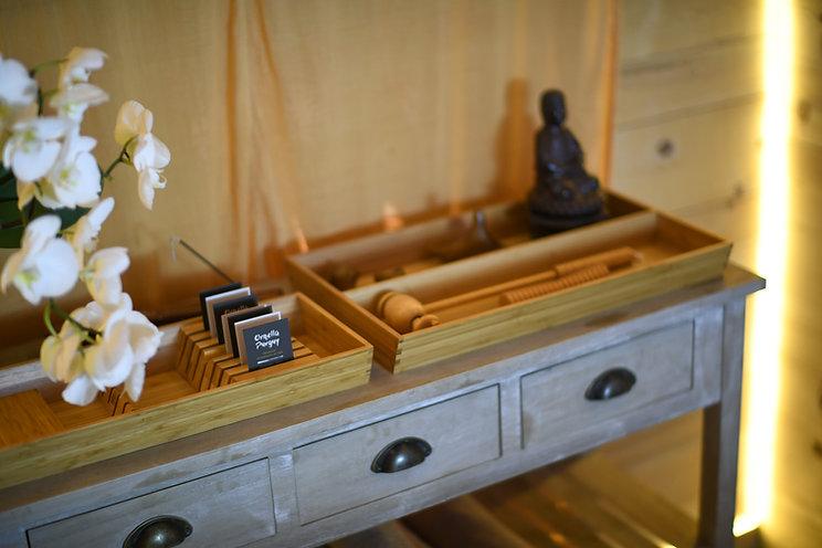 L arbre de Vie - Salon massage - Outils