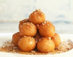 Loukoumades (Doughnuts) with Honey