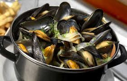 Mussels on Steam or Saganaki