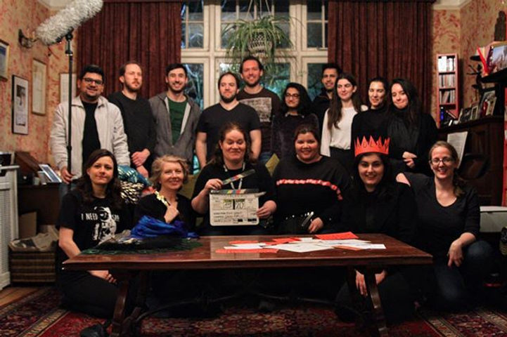 Team photo from our latest short film, S