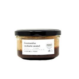 Gourmandise cacahuète caramel
