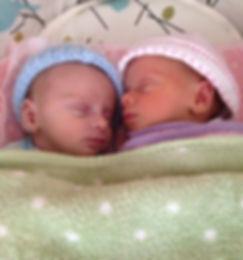 Newborn twins - Birth Doula - Toronto