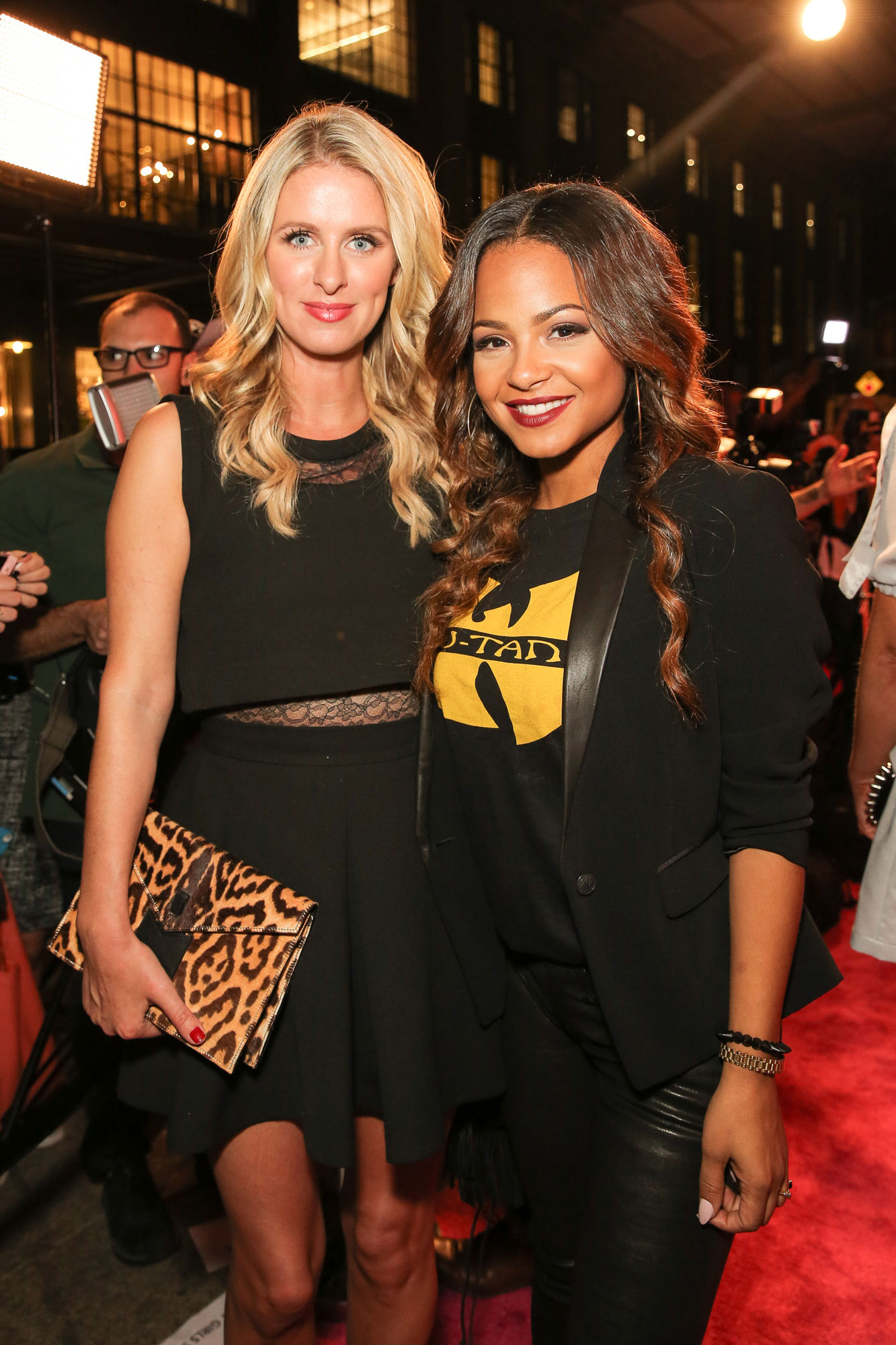 Nicky-Hilton-and-Christina-Milian