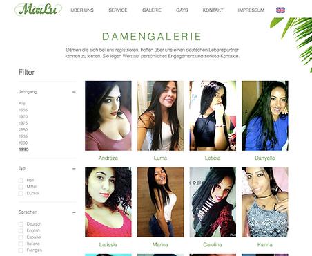 Brasilianerinnen Damengalerie