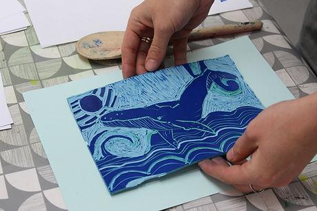 Bristol Print Collective - reduction lin