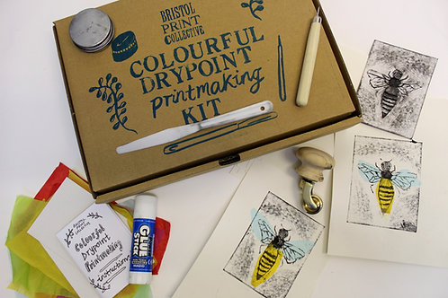 Colourful Drypoint Kit