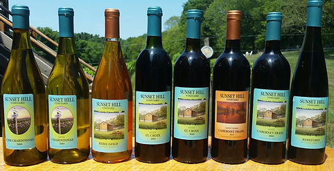 Sunset Hill Vineyard in CT