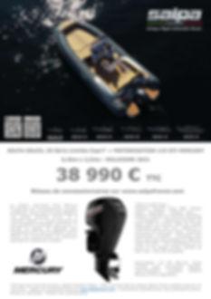 Soleil 20 serie Capri + 115 EFI Mercury.
