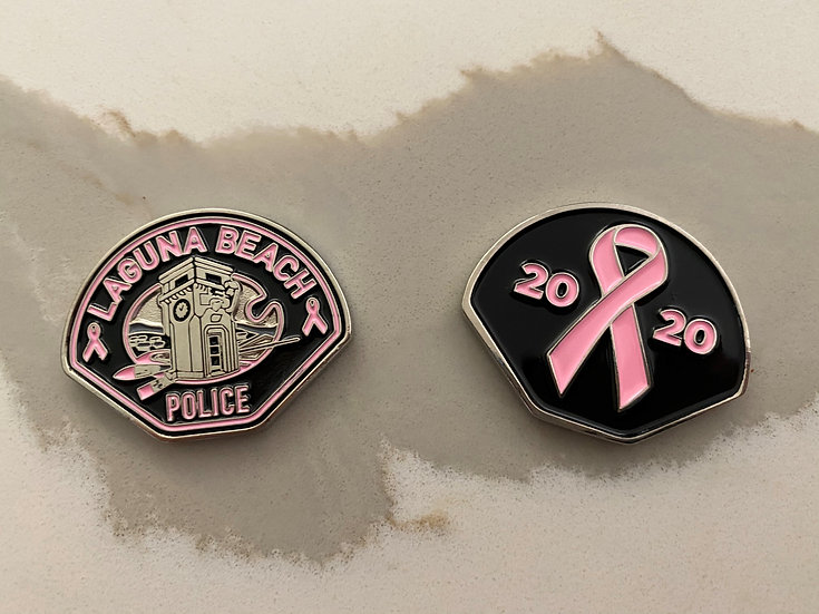 2020 PINK PATCH CHALLENGE COIN