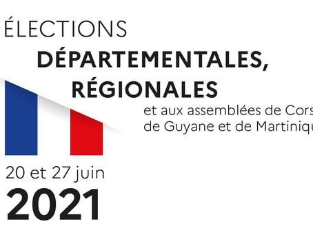 Résultat 2nd tour des élections départementales et régionales