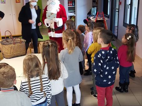 Noël des enfants des écoles de la commune