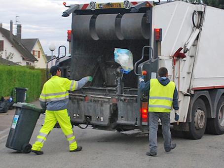 Modification pour les collectes des déchets ménagers