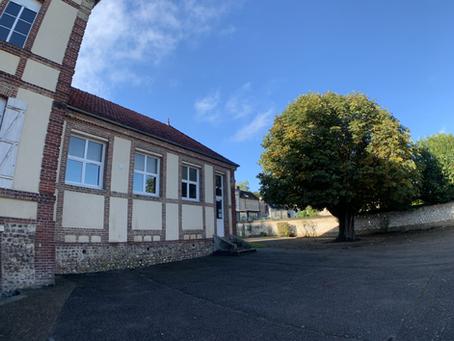 Rentrée de l'école de Saint Étienne du Vauvray